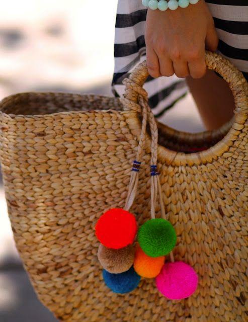 Fashion-Isha: Beach Style pom poms