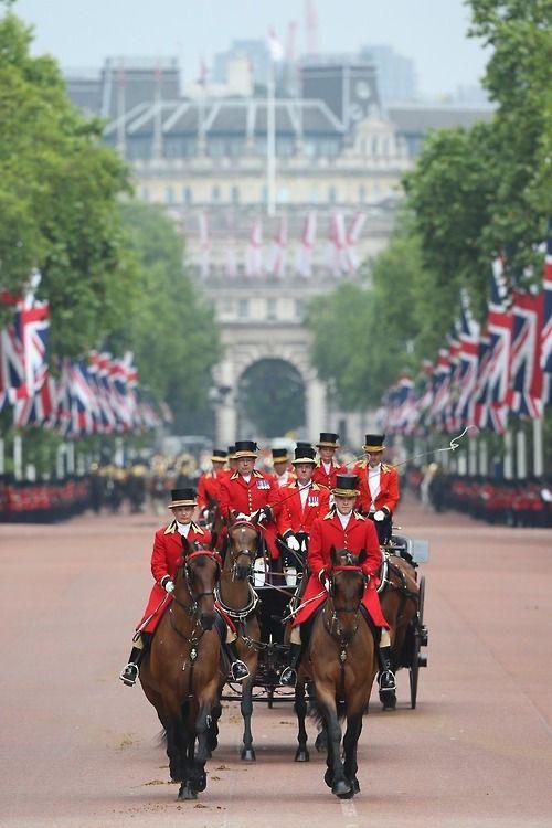 The Queen's birthday 14 June 2014 , London