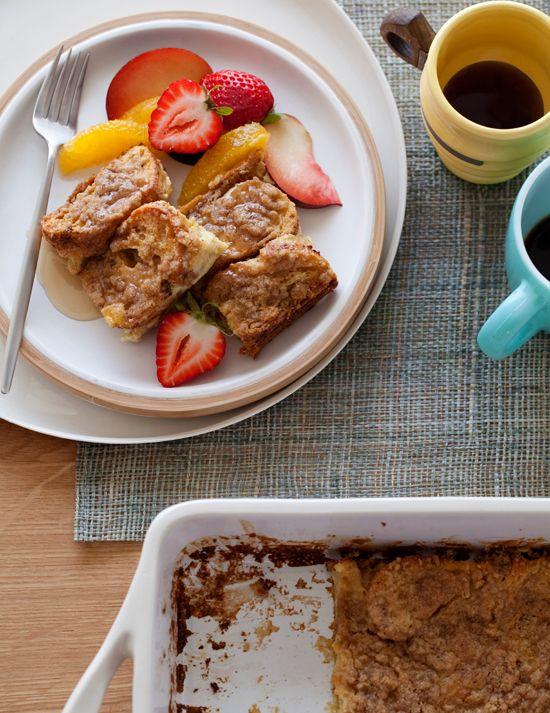 Streusel Baked French Toast /Breakfast with Picky Palate Christmas breakfast at the timeshare!