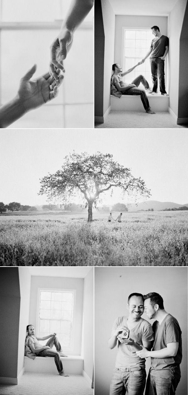 black & white gay home