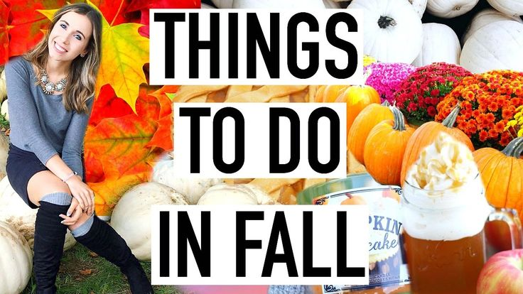 25 Things to Do In Fall! Fall Bucketlist To Do When You're Bored!