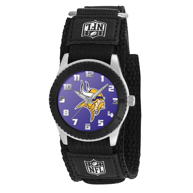 Game Time Watches Minnesota Vikings NFL Black Rookie Series Watch