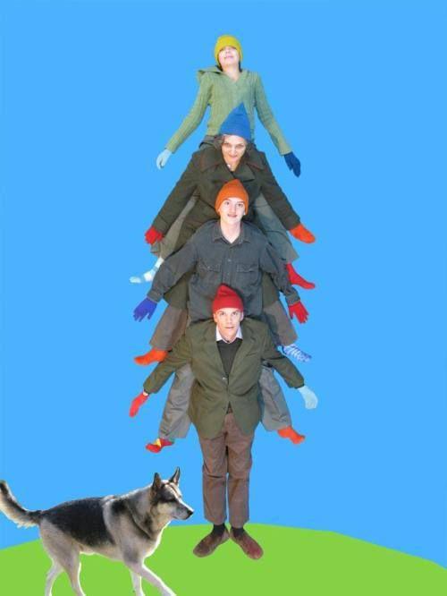 christmas card 5 Goofy family Christmas card ideas (22 photos)