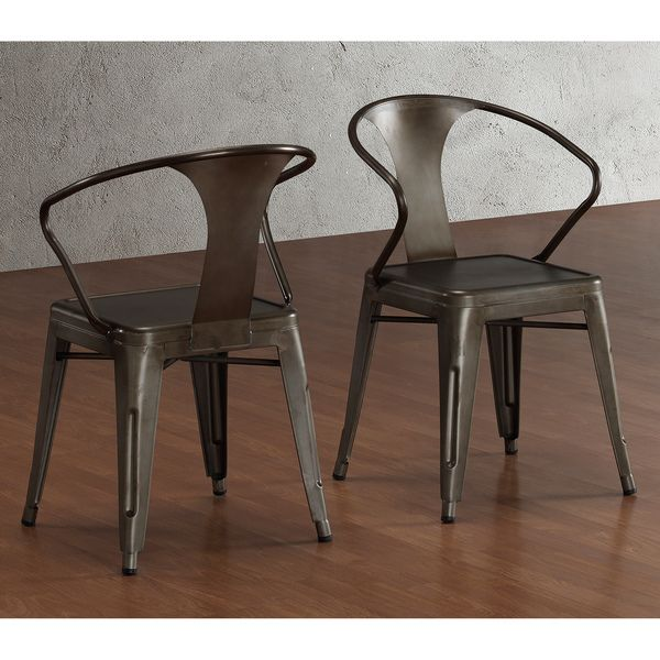 Vintage Tabouret Stacking Chairs (Set of 4) | Overstock.com Shopping - The Best Deals on Dining Chairs