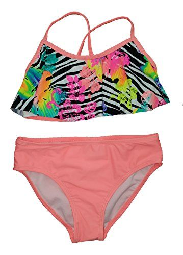 cdcd37546e Ocean Pacific Girls Safari Island 2 Piece Bikini | swimwear | Bikinis,  Bathing Suits, Swimwear