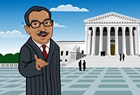Thurgood Marshall ~ Great video for little ones!