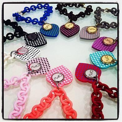 I nuovi bracciali di Ops Object..love pois!!