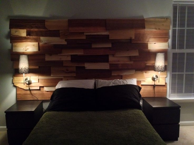 Cedar headboard we made with cedar shingles  For the Home  Pinterest  Headboard alternative