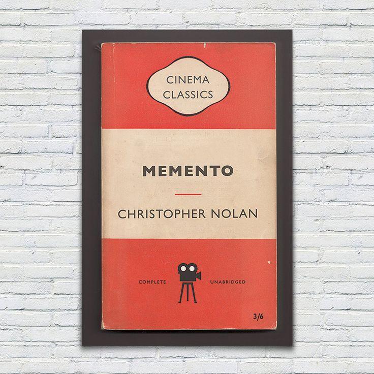 MEMENTO Movie Poster Christopher Nolan by EncoreDesignStudios