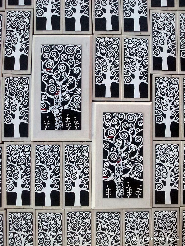 Bomboniere per la prima comunione di Livia Diana: 36 alberi in versione silhouette e 2 alberi più grandi. Livia è giovanissima ma ha già le idee molto chiare e un gusto invidiabile! Tra le tante ve…