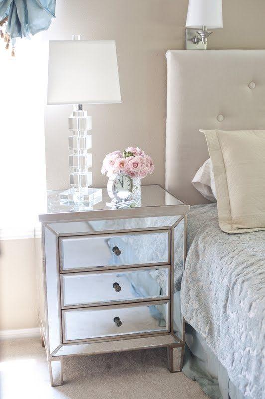Mirrored Dresser Would Be Beautiful In A Walk Closet