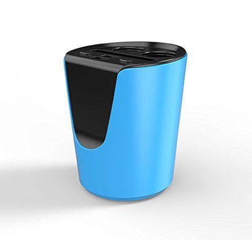 Chargeur de voiture, tasse type One Drag 23usb chargeur 3.1A chargeur de voiture téléphone portable support Tasse chargeur de chargeur de…