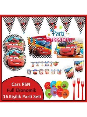 Cars RSN Ekonomik Süper Set (16 Kişilik)