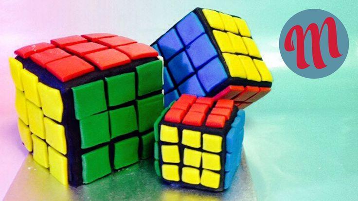 Qué mejor que resolver el famoso Cubo de Rubik ¡comiéndonoslo! Aprende paso a paso cómo hacer esta divertida tarta con fondant. Un postre original y creativo que es muy fácil de hacer.