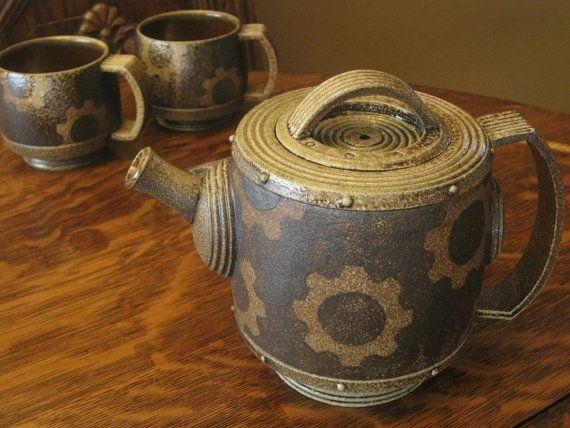 Industrial Teapot