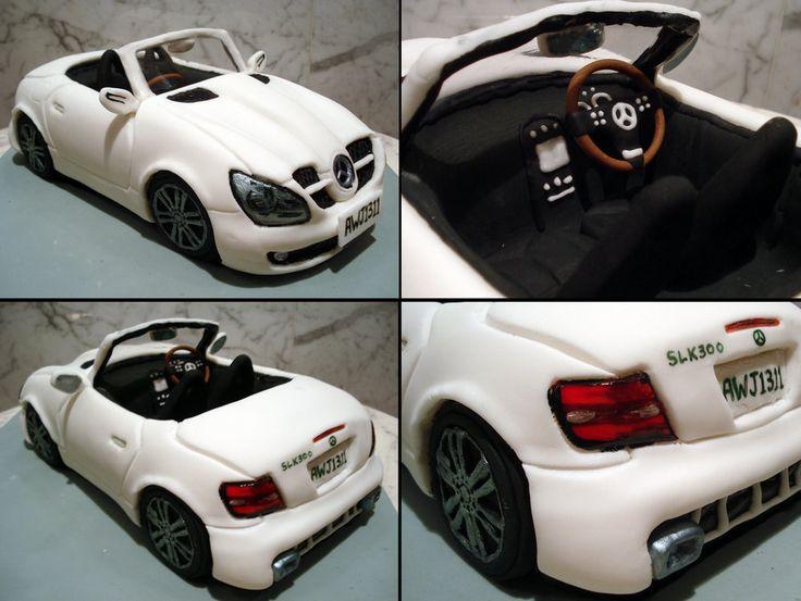 Mercedes SLK300 Convertible by Sliceofcake.deviantart.com on @deviantART