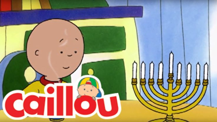 Celebrate Chanukah with Caillou & Leo! Caillou's Holiday Movie Soundtrack is Now Available on iTunes!