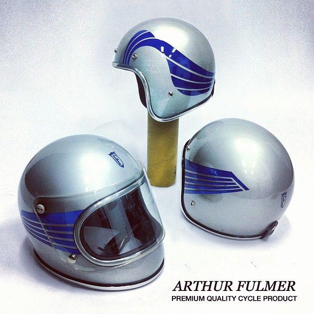 ARTHUR FULMER HELMETS AF50 & AF40  RRR///Ride-Repair-Repeat @glingamoo Instagram photos   Websta