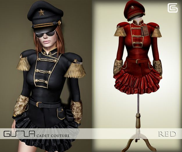 GizzA - Cadet Couture [Red]