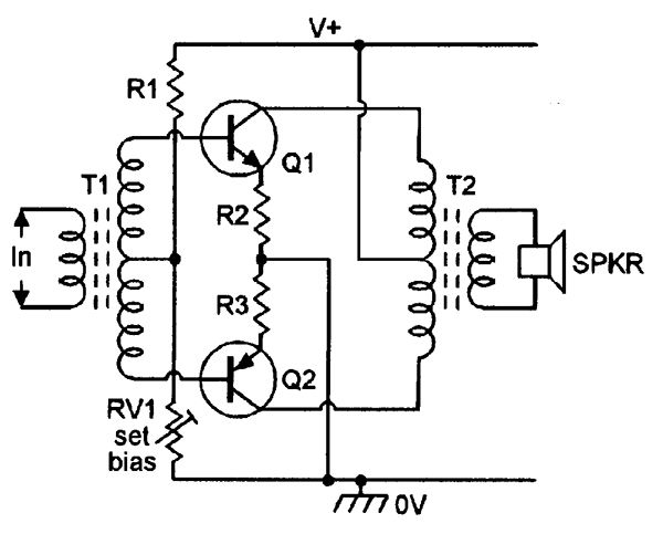circuit diagram basic circuit the video lifier board circuit with on