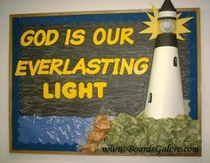 Image result for lighthouse bulletin board