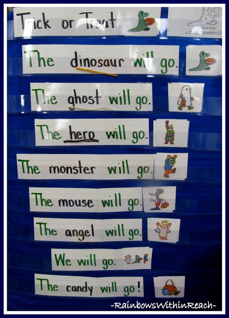 Kindergarten Calendar Pocket Chart : Best shared reading pocket chart activities poems