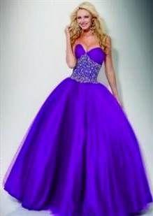 Cool neon purple dresses