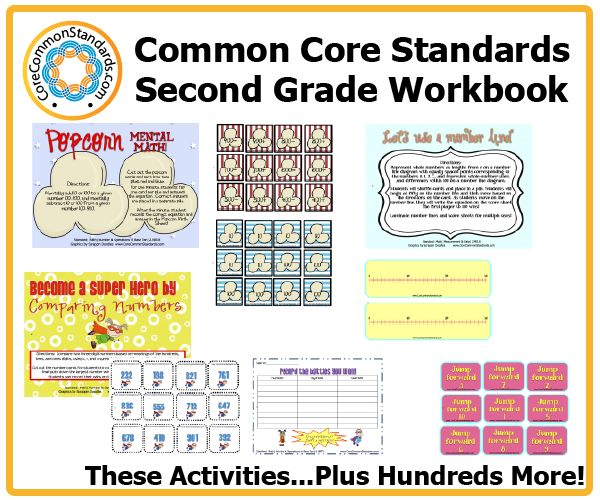 This Second Grade Common Core Workbook is the largest collection of resources for teaching the Common Core State Standards.