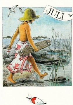 Juli (K50-590) ansichtkaart