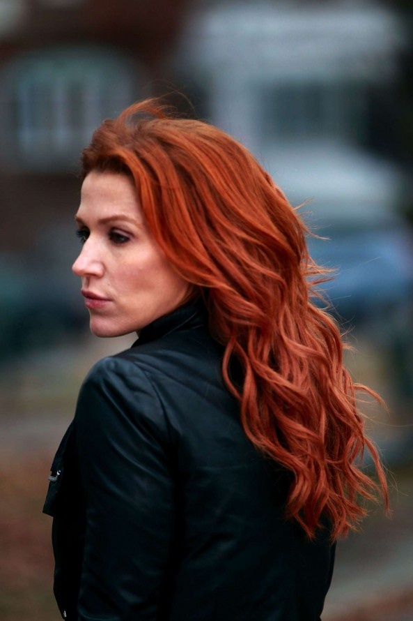 "Poppy Montgomery from ""Unforgettable"" is my inspiration for my main character Mikayla."