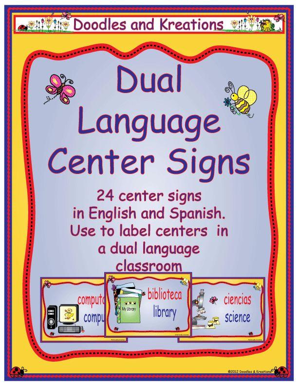 89 best images about Bilingual Education on Pinterest ...