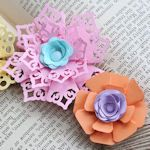 Make your own paper flowers.. spring is coming!Paper Flower, Flower Tutorial, Lace Flower