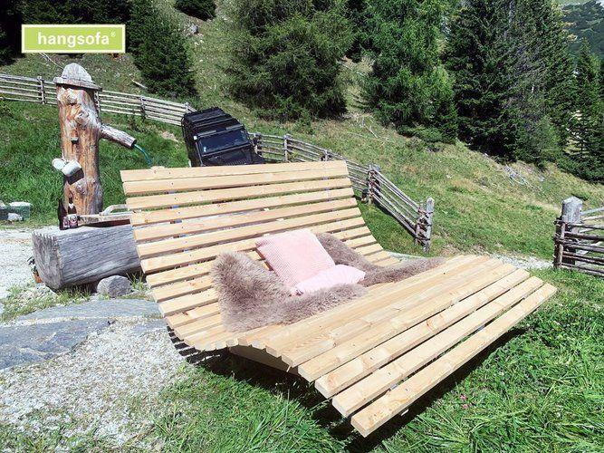 Schwungliege Von Hangsofa Kaufen Bei Hood De In 2020 Relaxliege Aussenmobel Holzliege