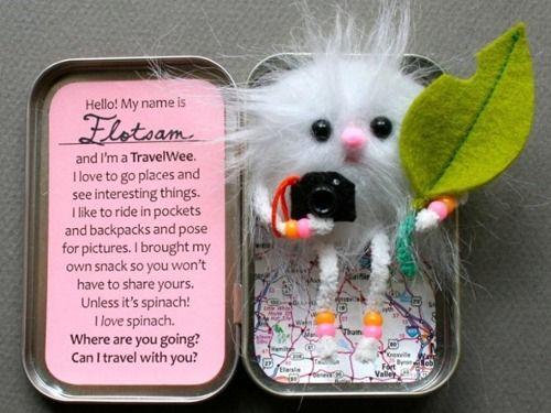 So cute!!  A diy bon voyage gift