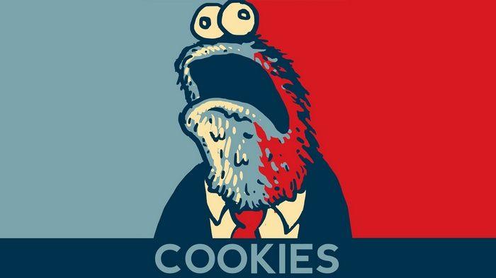 Sesame Street Hope Posters Presidents Politics Humor Minimalism Cookie Monster Wa Cookie Monster Wallpaper Monster Cookies Cookie Monster Drawing