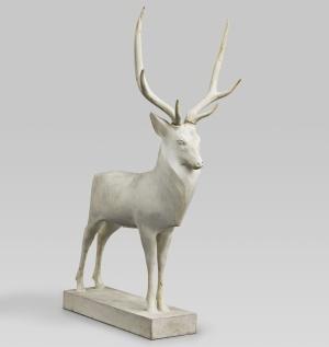 François Pompon, Grand cerf, 1929, plâtre
