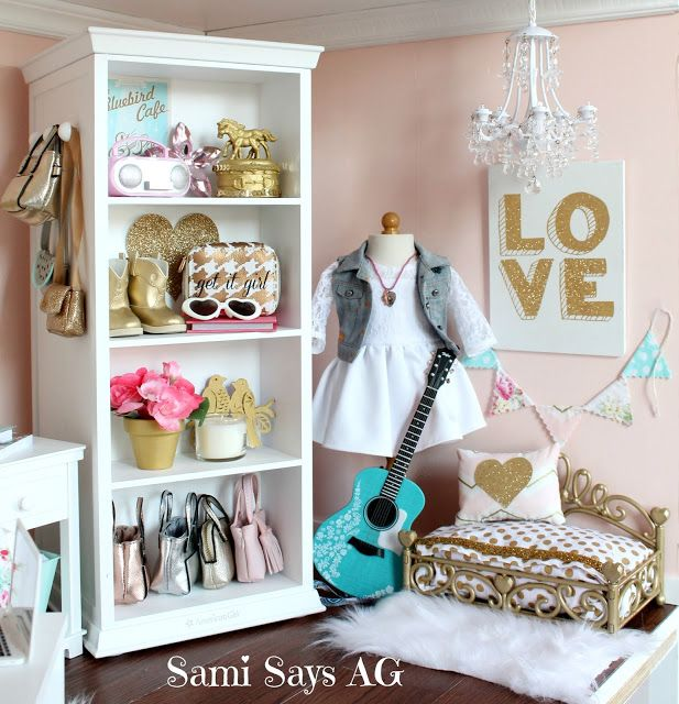 Sami Says AG-- American Girl Tenney Grant's Doll House Room