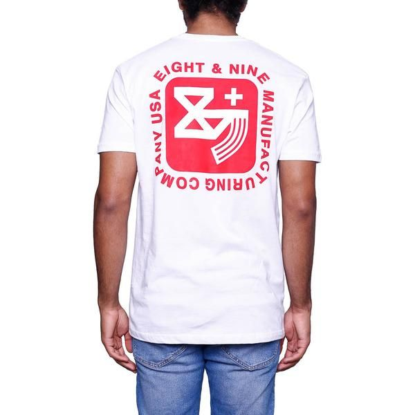 Kalash Clip White T Shirt back