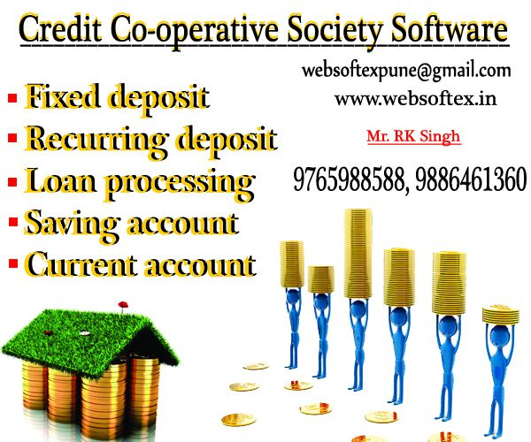 websoftex is one of the most popular and experienced Co-Operative credit society Software companies in with around 6+ years of experience in develop software. Its provides multiple features like RD FD and Loan management system.