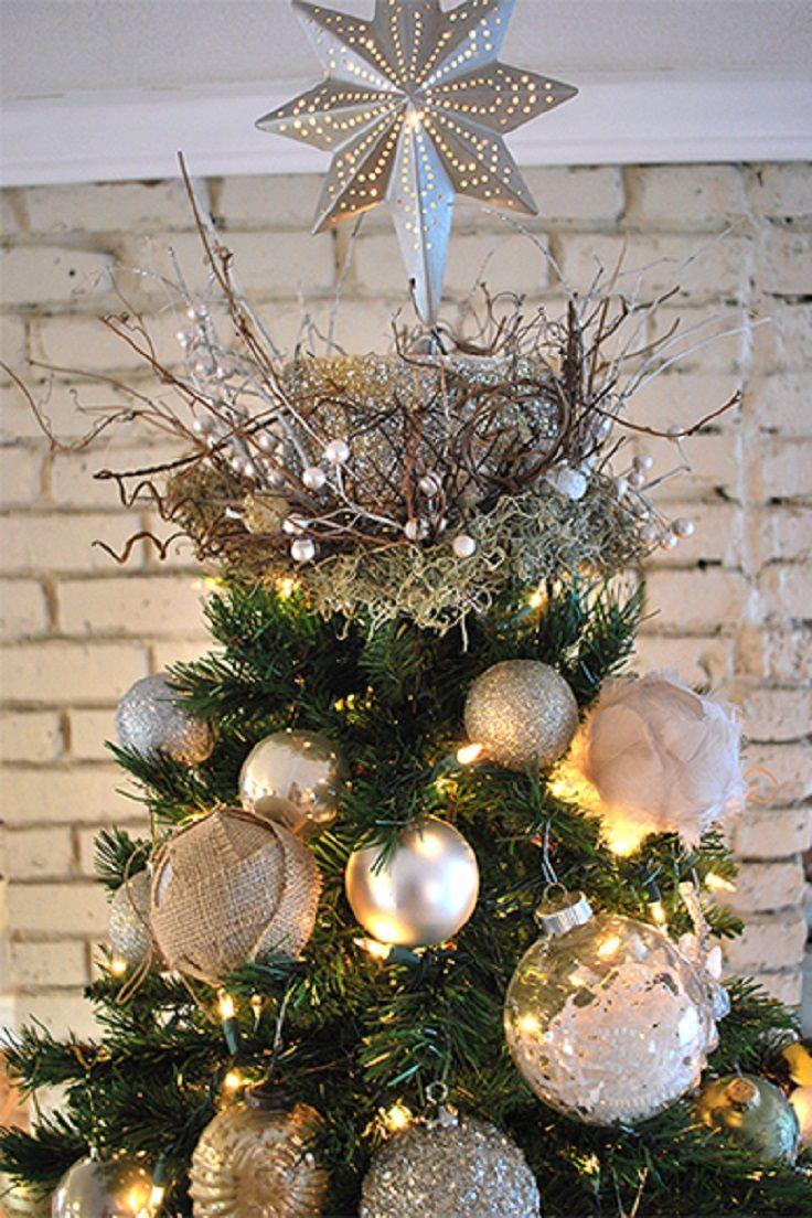 Top 10 Beautiful Christmas Tree Topper Tutorials Diy