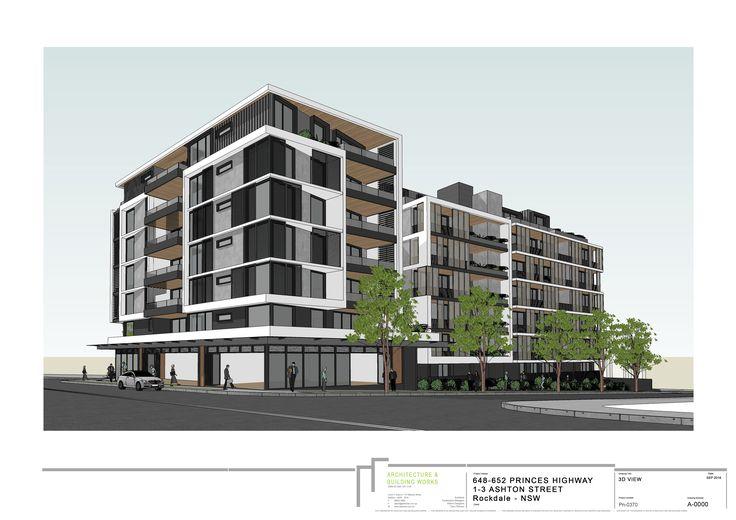 ABW - Architecture: Ashton St, Rockdale  #Renders