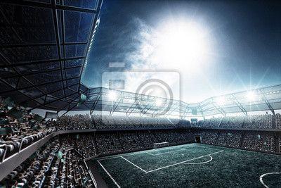 Fotboll Dekor •Väggdekaler • PIXERS.se
