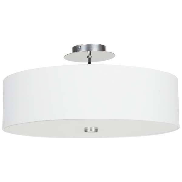 266zl 50cm 3 żarówki Plafon LAMPA sufitowa VIVIANE 6532 Nowodvorski chrom szary