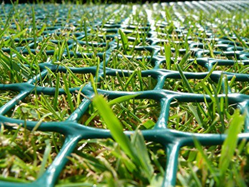From 49.99 2mx10m Roll Of Tr3 Turf/grass Reinforcement Mesh Green 430gsm. Suitable For Pet Runs Wheelchair Access Play Areas And More.