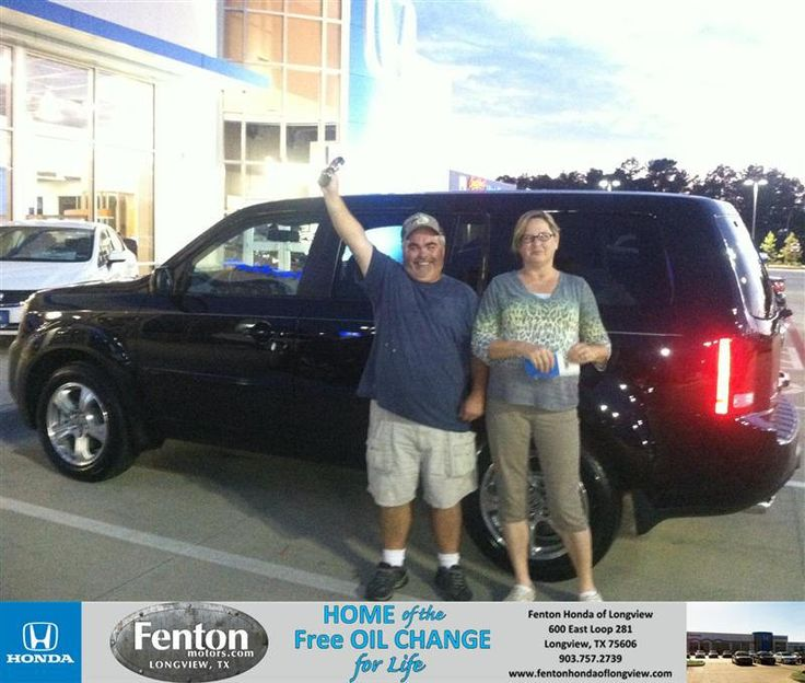 Congratulations to Sharon Smith on your #Honda #Pilot purchase from Raul Hernandez at Fenton Honda of Longview! #NewCar
