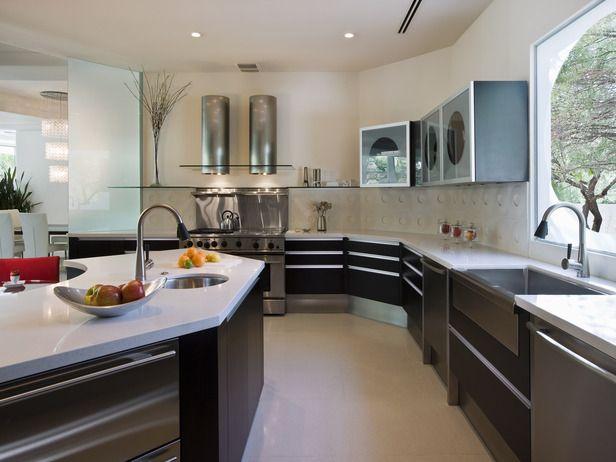 Modern Kitchens from Elizabeth Rosensteel : Designers' Portfolio 3934 : Home & Garden Television