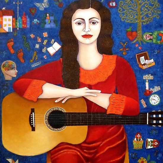 """Violeta Parra  and the song """"Thanks to Life """""""
