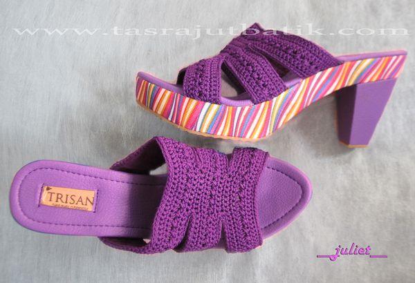 Sepatu Rajut JULIETE purple