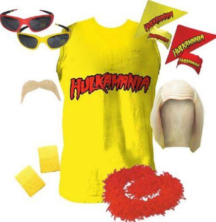 Hulk Hogan 80&s Costume  80&s Outfits