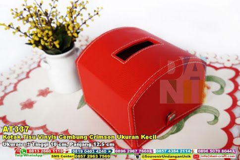 Kotak Tisu Vinyls Cembung Crimson Ukuran Kecil Hub: 0895-2604-5767 (Telp/WA)#KotakTisuVinylsCembungCrimsonUkuranKecil #souvenir #souvenirPernikahan